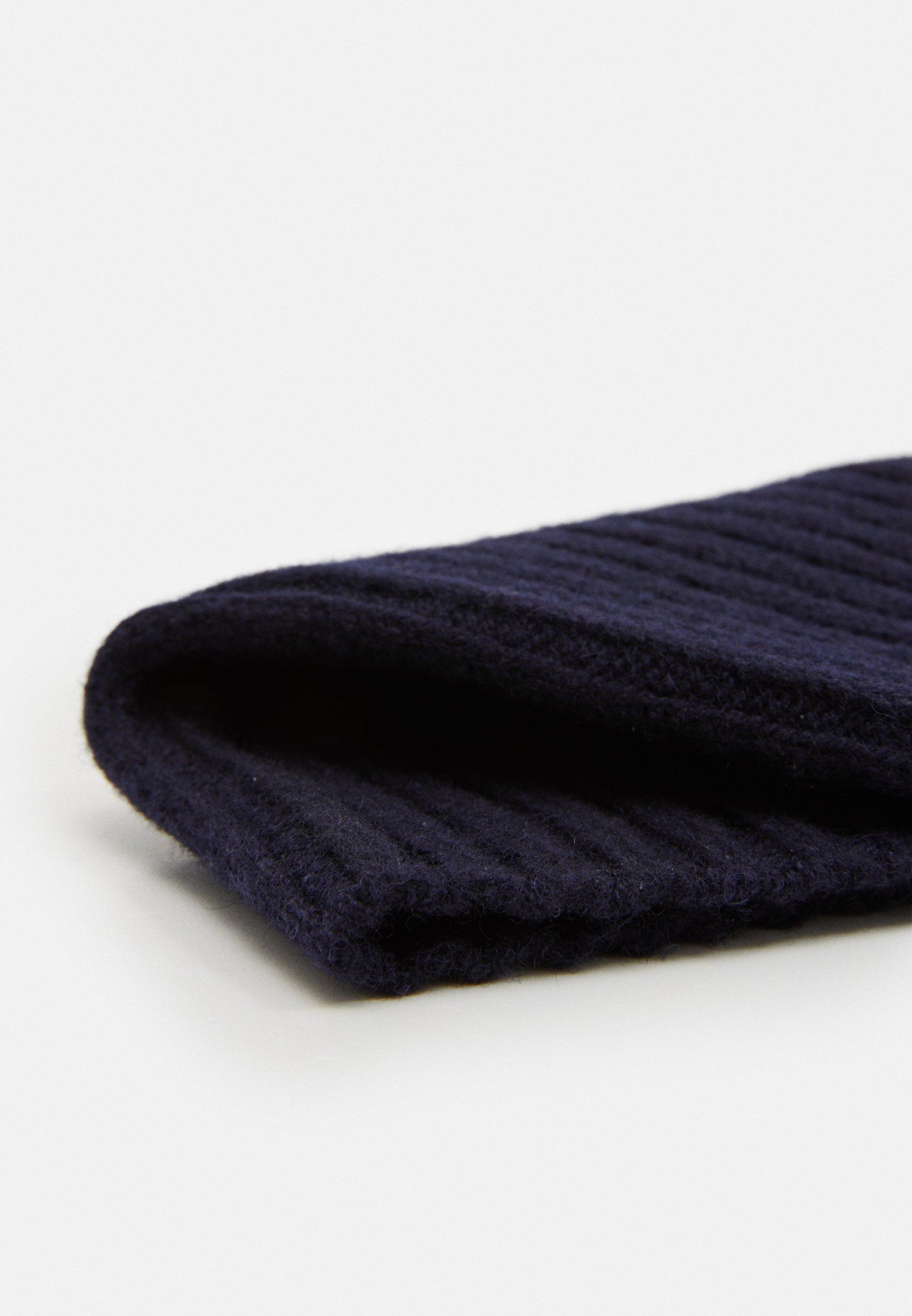 Arket Beanie - Mütze Blue Dark/dunkelblau
