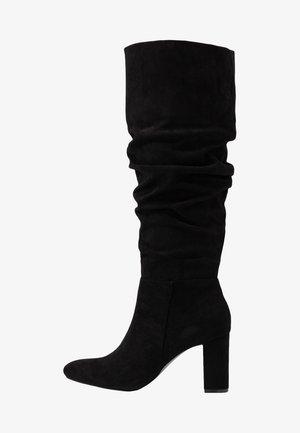OXFORD - Vysoká obuv - black