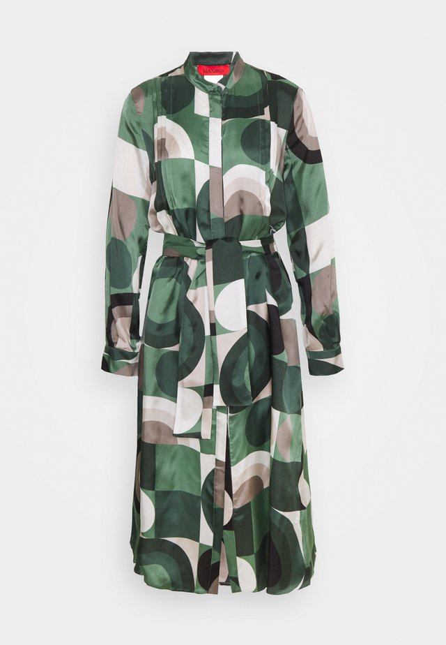SPUGNA - Vapaa-ajan mekko - dark green pattern