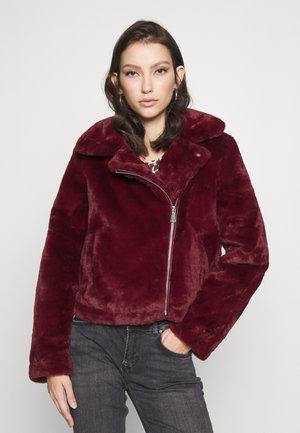 VMTHEA BIKER JACKET - Winter jacket - cabernet