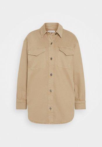 EDEN - Short coat - sand