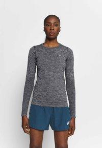 ASICS - RACE SEAMLESS - Camiseta de deporte - dark grey melange - 0