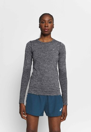 RACE SEAMLESS - T-shirt sportiva - dark grey melange