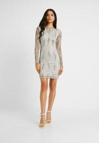Lace & Beads Tall - BROOKLYN DRESS - Juhlamekko - grey - 2