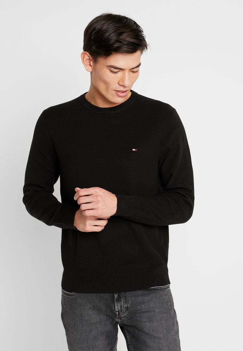 Tommy Hilfiger - CREW NECK - Strikkegenser - black