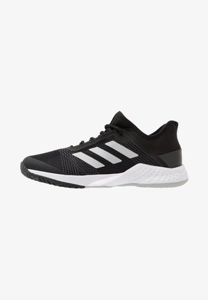 ADIZERO CLUB - Tenisové boty na všechny povrchy - core black/silver metallic/grey two