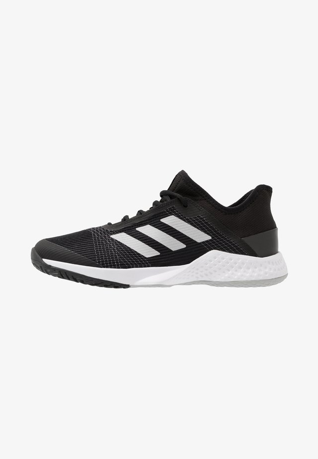 ADIZERO CLUB - All court tennisskor - core black/silver metallic/grey two