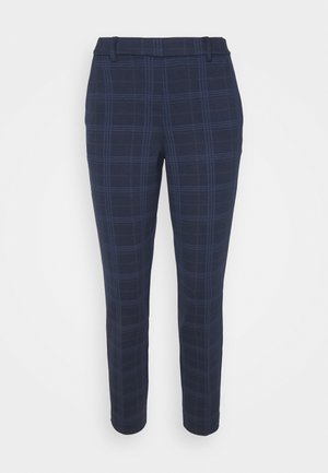 MIA SLIM - Trousers - navy bold