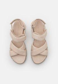 Kennel + Schmenger - TRAIL - Platform sandals - beige - 5