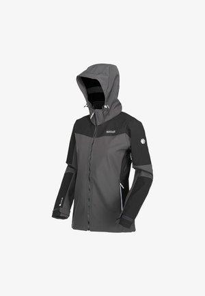 Hardshell jacket - ash/black