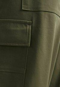 Bershka - Trousers - khaki - 2