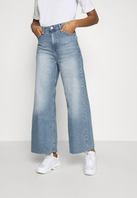 Dr.Denim - AIKO CROPPED - Relaxed fit jeans - empress blue - 0