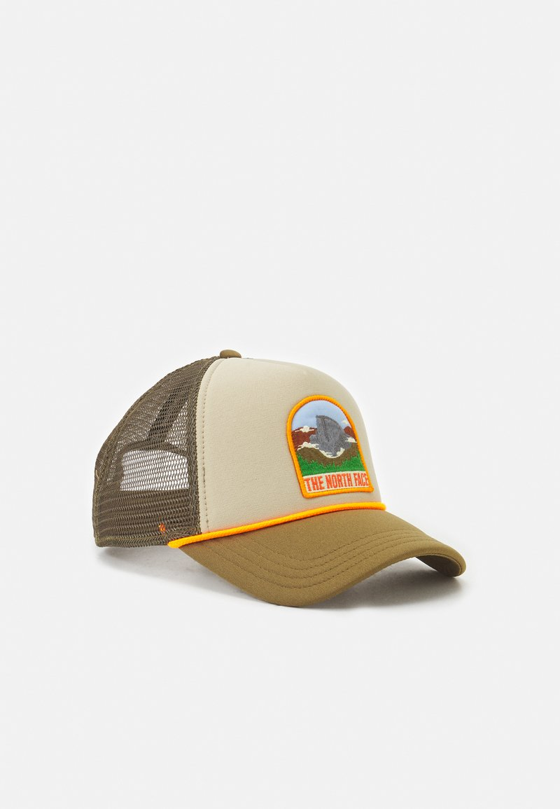 The North Face - VALLEY TRUCKER UNISEX - Casquette - beige/olive
