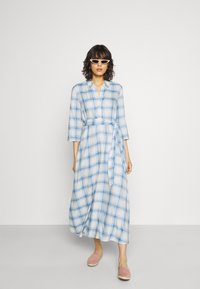 JDY - JDYSTAY MIDCALF DRESS - Košilové šaty - cashmere blue - 1