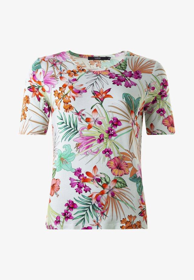 CONNY - TOPP  - Print T-shirt - mintrose