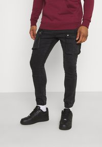 Brave Soul - DUST - Cargo trousers - charcoal - 0