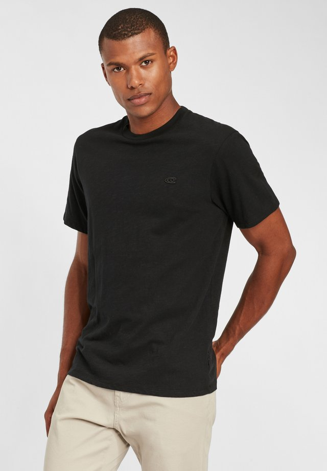 TEES S/SLV OLD SCHOOL - T-shirt basique - black out