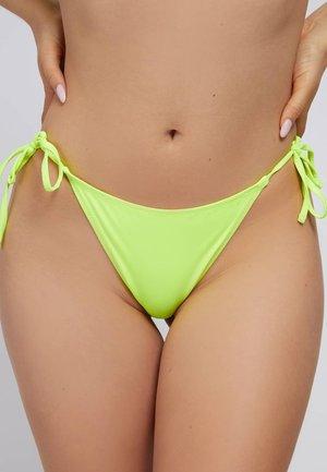 Bikini bottoms - jaune