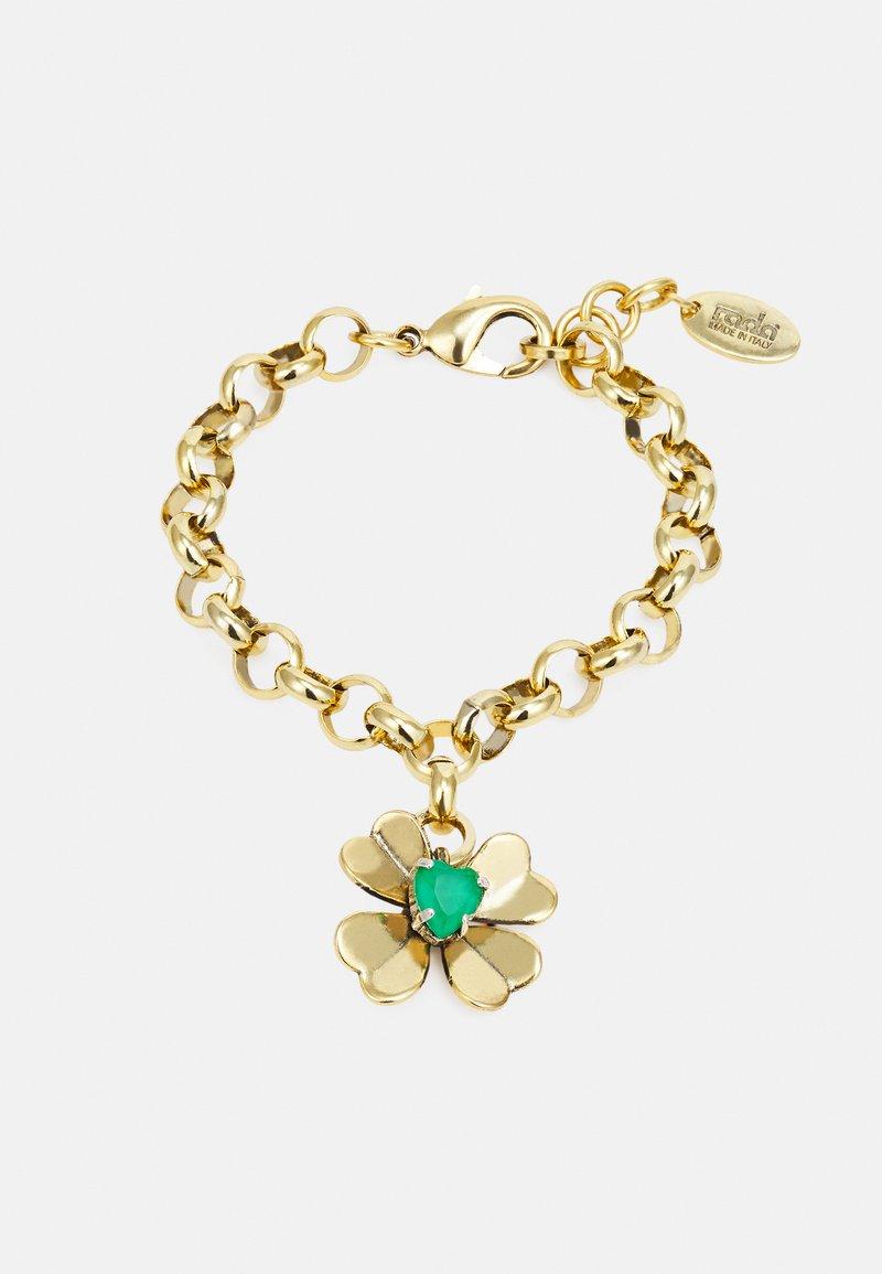 Radà - BRACELET - Armband - gold-coloured/green