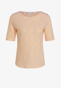 Oui - Print T-shirt - white yellow/or - 4