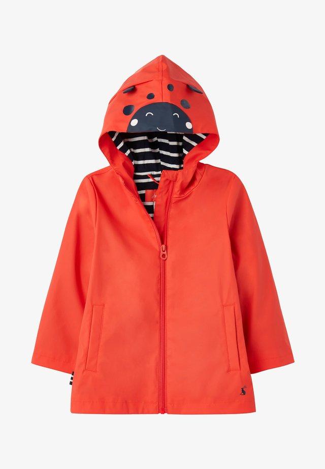 RIVERSIDE - Waterproof jacket - neu melone