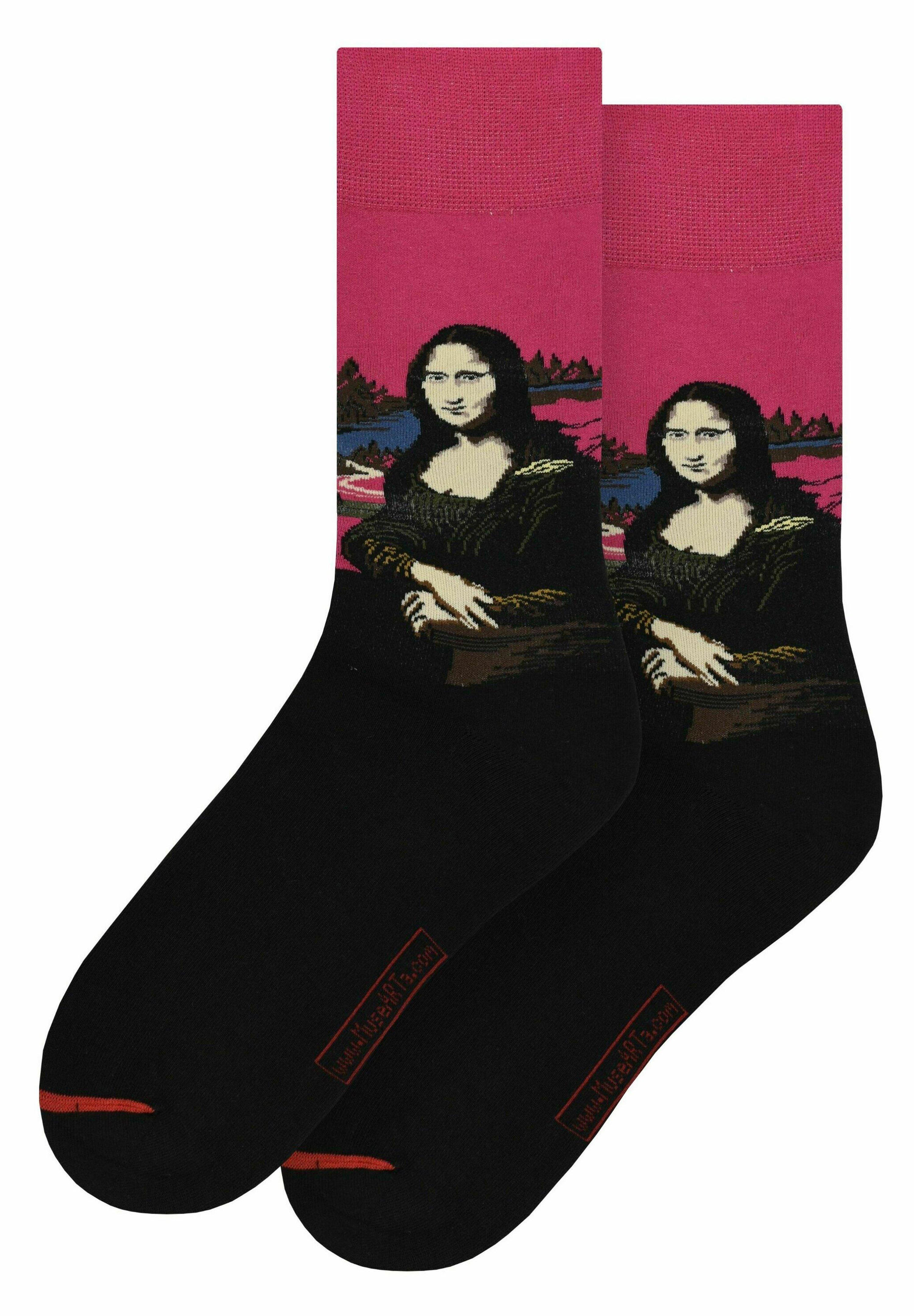 Herren LEONARDO DA VINCI: MONA LISA - Socken