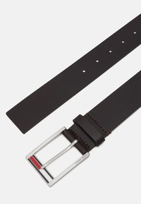 Tommy Jeans - FLAG INLAY - Belt - brown - 1