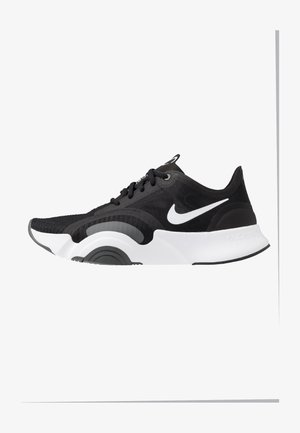 SUPERREP GO - Chaussures d'entraînement et de fitness - white/black/dark smoke grey