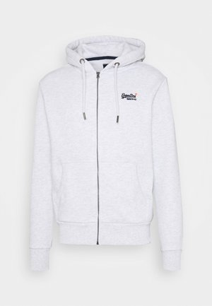 CLASSIC ZIPHOOD - Zip-up hoodie - ice marl