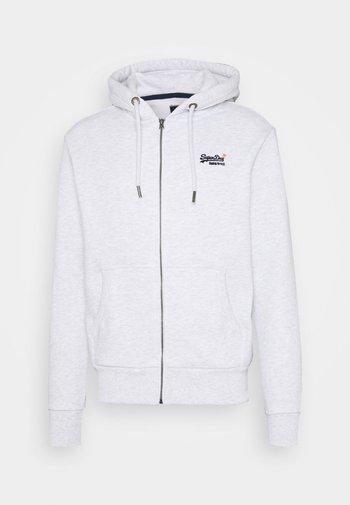 CLASSIC ZIPHOOD - Zip-up sweatshirt - ice marl