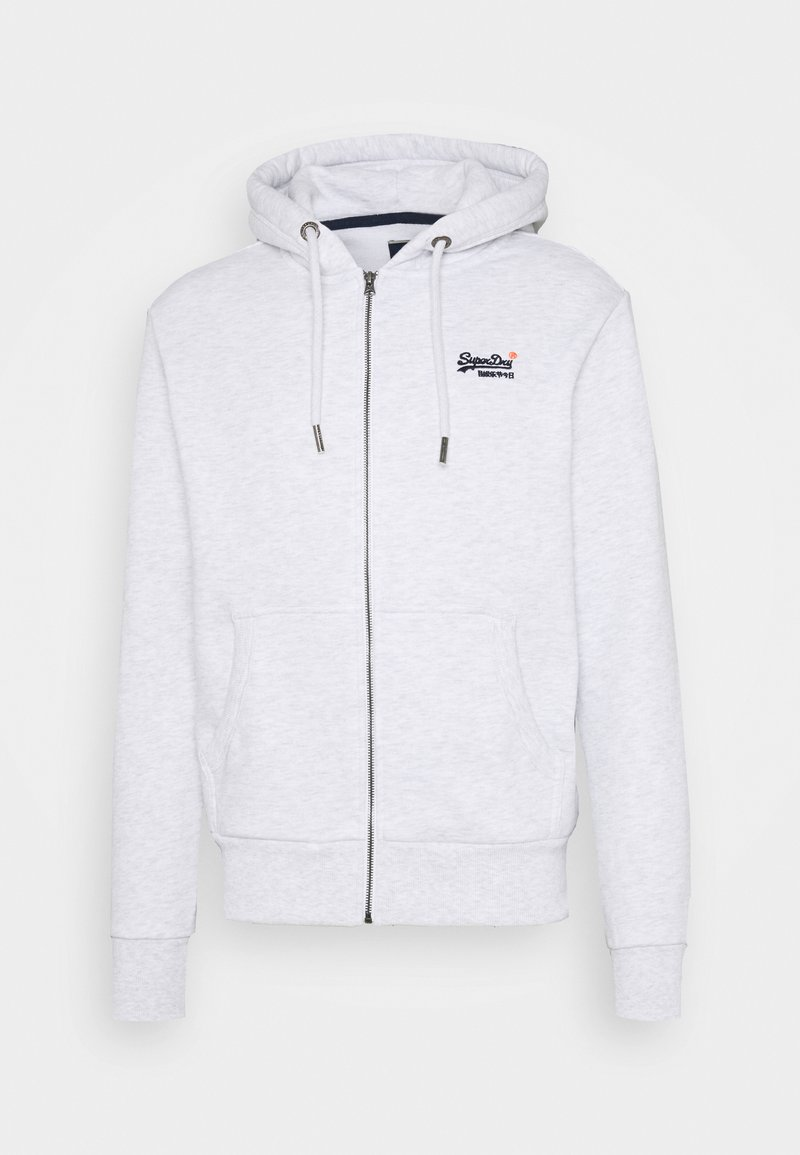Superdry - CLASSIC ZIPHOOD - Zip-up hoodie - ice marl