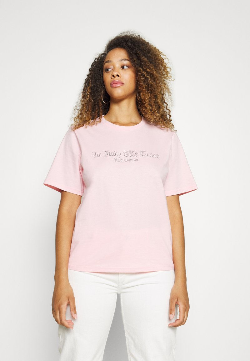 Juicy Couture - JUICY TRUST - T-shirt print - alomd blossom