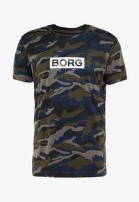 Björn Borg - TEE ATOS - T-shirt med print - forest night - 3