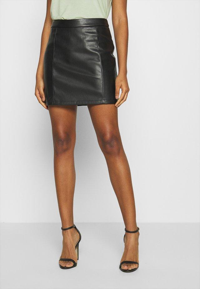 JDYTHEON SKIRT - A-line skirt - black
