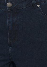 CAPSULE by Simply Be - KIM HIGH WAIST SUPER SOFT - Bootcut jeans - dark indigo - 4