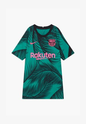 FC BARCELONA UNISEX - Club wear - new green/black/pink beam