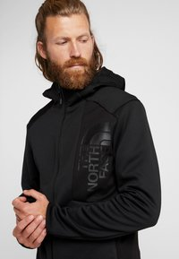 The North Face - MERAK HOODY - Fleece jacket - black - 4