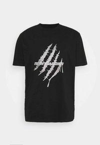 Night Addict - GLITTER - Print T-shirt - black - 4