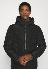 TOM TAILOR DENIM - HEAVY PUFFER JACKET - Winter jacket - black - 4
