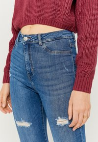 TALLY WEiJL - Jeans Skinny Fit - blue denim - 3