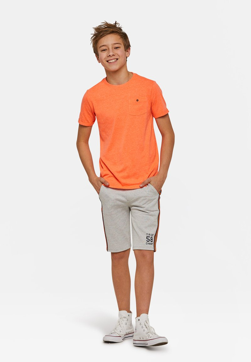 WE Fashion - WE FASHION JONGENS NEON T-SHIRT - T-shirt basic - orange