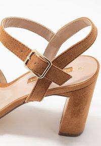 Dorothy Perkins - SELENA BLOCK  - High heeled sandals - tan - 2