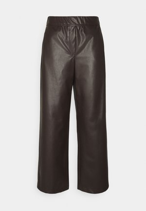 CULOTTE - Trousers - onyx brown
