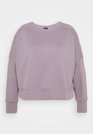Sweatshirt - purple smoke