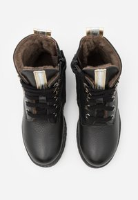 clic! - Šněrovací kotníkové boty - black - 3