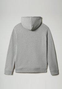 Napapijri - BIROL HOOD - Hoodie - medium grey melange - 4