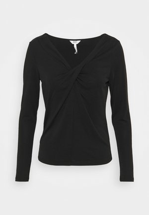 OBJTAMARA TOP - Long sleeved top - black
