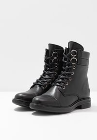 Apple of Eden - TAY - Lace-up ankle boots - black - 4