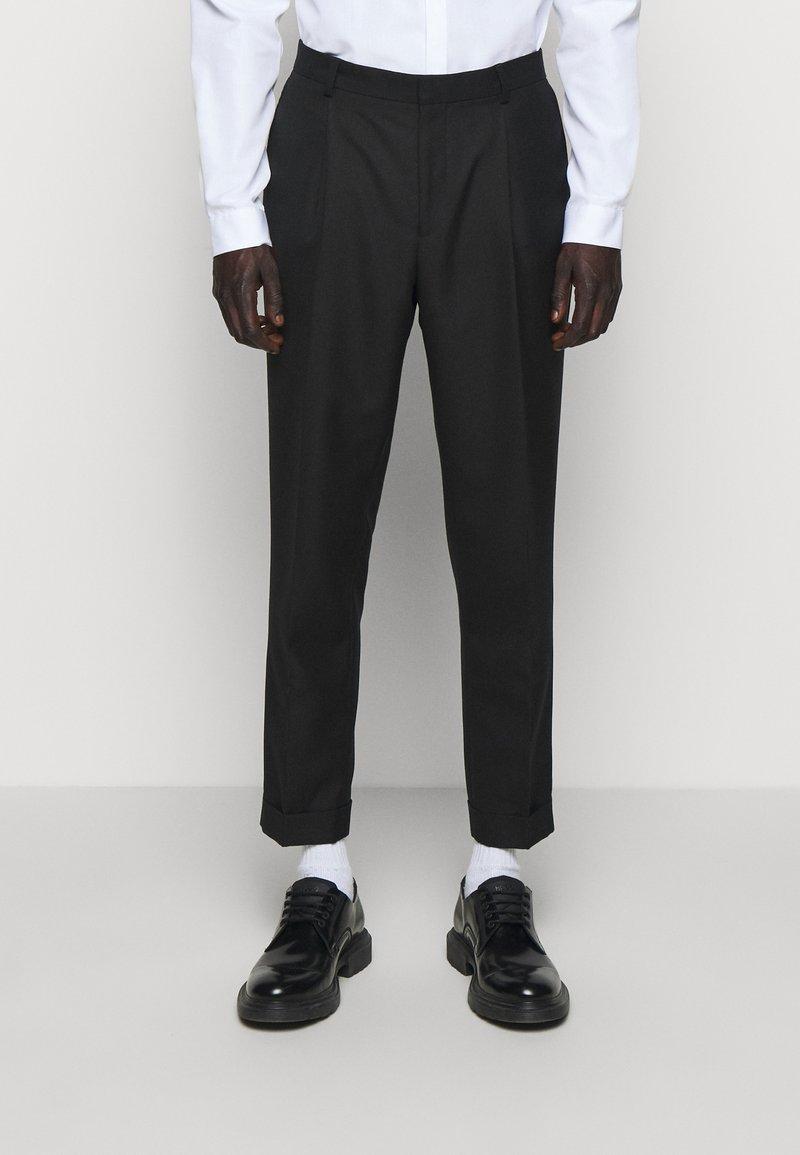 The Kooples - PANTALON SEUL - Trousers - black