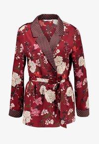 ONLY - ONLELAINE LOOSE - Short coat - merlot - 3